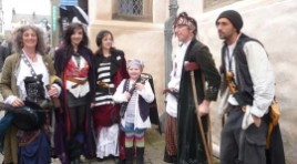Scurvy knaves at Conwy Pirate Festival