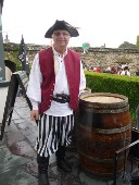 Toby at Conwy Pirate Festival