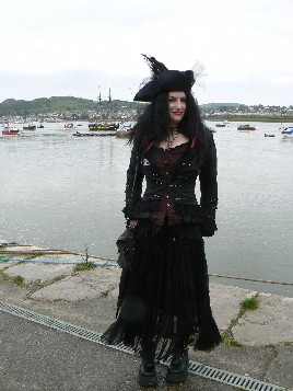 Conwy Pirate Festival Pirate Lady Winner