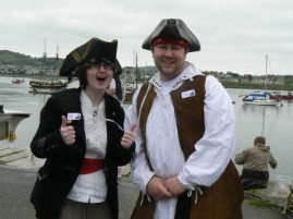 Fun at Conwy Pirate Festival