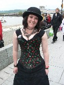 Pretty Lady Pirate at Conwy Pirate Festival