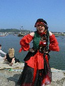 Arrrgghhh at Conwy Pirate Festival