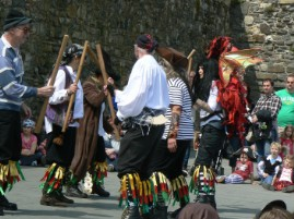 Conwy Pirate Festival dance